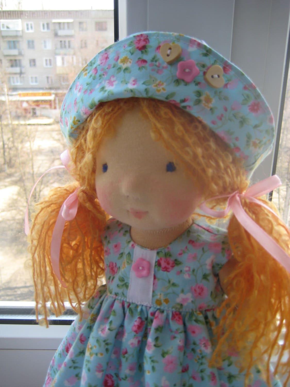 Waldorf doll 15 waldorf fabric doll steiner doll - Material waldorf ...
