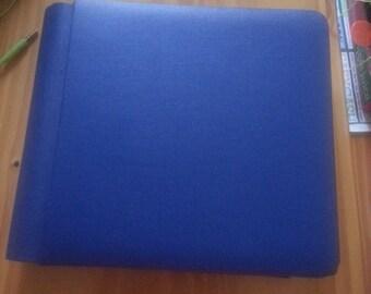 Blue Creative Memories Scrapbook / Photo Album