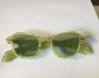 1950's Vintage Lucite framed Sunglasses