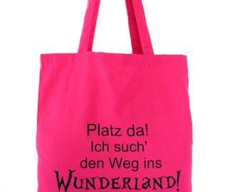 Jute bag Wonderland