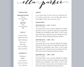 Simple CV Template Best Resume Template Resume Template