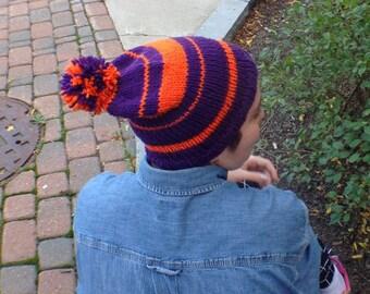 Orange & Purple Spirit Beanie!