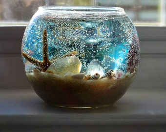 Back to the beach ! Seashore scented ocean gel candles