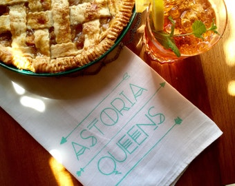 Astoria, Queens Tea Towel