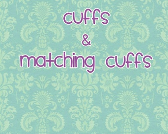 Cuffs & Matching cuffs (no chain or links included)