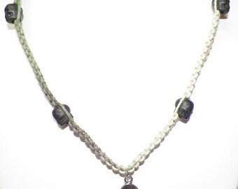 Fish Bone Hemp Necklace