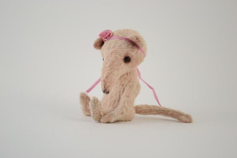 Soft Toys With Pockets : Miniature teddy bear pocket baby rat soft toy stuffed animal