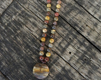 Earth-Tone Necklace