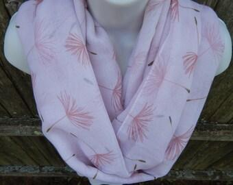 Pink Dandelion Fluff