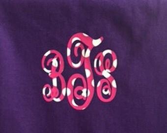 Polk A Dot Monogrammed T Shirt