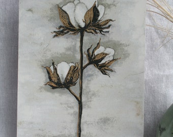 Cotton Blossom | 5X7 Print