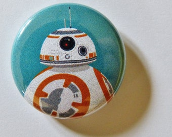 Star Wars BB-8 1-Inch Designer Button Magnet