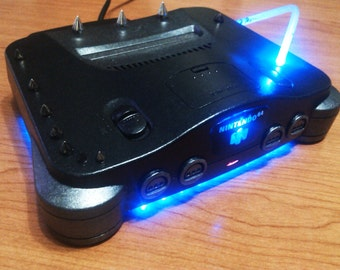 Nintendo 64 N64 Rock Cyberpunk custom Custom