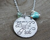 Meaningful Gifts- Bushel and a Peck Meaningful Necklaces, Inspiring Quote Necklaces, Custom Jewelry, Inspirational necklaces, Quote Jewelry