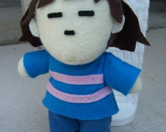 Frisk Plushie from Undertale