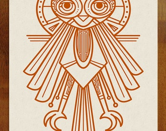 Owl Be There Art Print - Limited Edition Screen Printed Poster