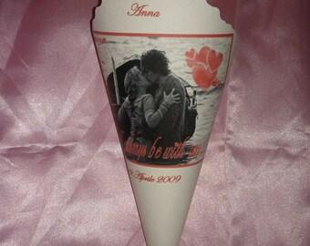 Tristran and Isolde wedding cones