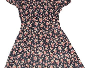 All that Jazz 90's floral mini dress
