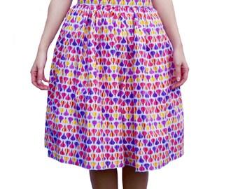 Fly Away Knee Length Skirt