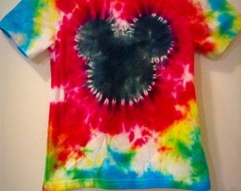 Mickey Mouse Tie-Dye Shirt