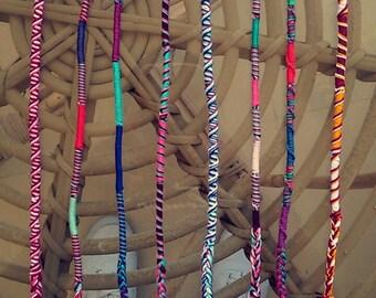 Friendship bracelets/anklets