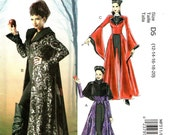 "McCall's 311 EVIL WICKED WOMAN Costume Cape Coat Capelet ""Once Upon a Time""  ©2013 McCall's 6818 English & Espanol Spanish Instructions"