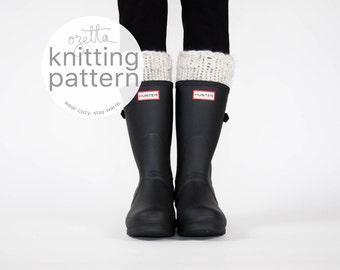 Knitting Pattern / Boot Warmers, Leg Warmers, Boot Cuffs / THE ARCTICS