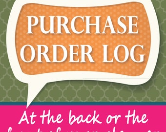 Purchase Order Log for Planners