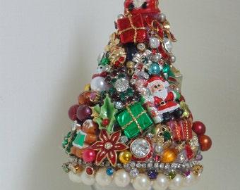 Mini Tree Santas Sack Christmas Home Decor