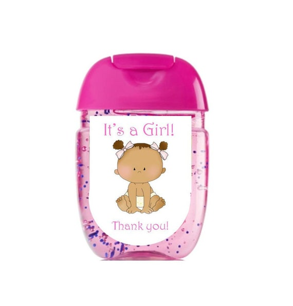 Baby Shower Stickers Next Day Delivery ~ Hand sanitizer labels bath body works new design baby