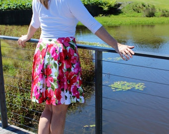 Sweet Pleat Skirt