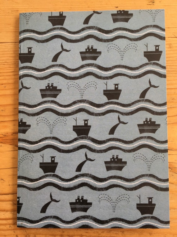 Notebook - Boats and Whales