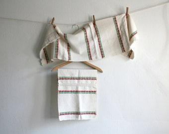SALE Woven Mexican Kitchen Linens