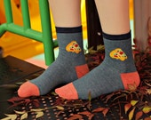 Gooey Pizza Socks