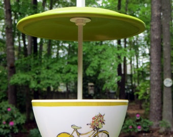 Mealworm Treat Bird Feeder, Melamine, Handcrafted
