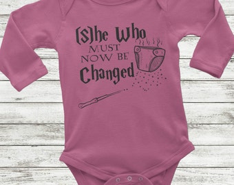 Long Sleeve Harry Potter Onesie, Harry Potter Girl, Harry Potter Baby Shirt, Long sleeve baby shirt, Harry Potter Baby Girl, Harry Potter