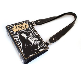 Star Wars Book Purse - Geeky Decadence Bookpurse Clutch or Handbag -