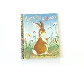 Little Golden Book, Home for Bunny 1961 , Easter story , Childrens , Kids , Bunny rabbit