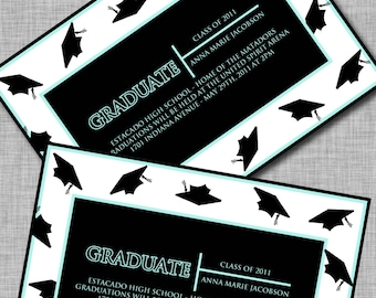 Graduation Announcements, Printable, DIY, High School Graduation Announcements, College Graduation Announcements