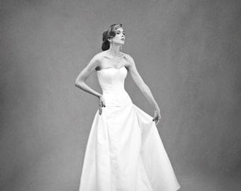 O'Malley Skirt – Custom Bridal Separates – Custom Wedding Dress – Bridal Couture by Jill Andrews Gowns