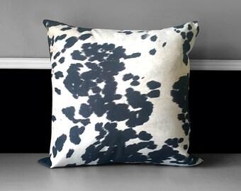 "Pillow Cover - Udder Madness Black 20"" x 20"""