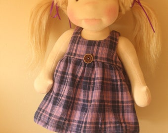 """Xmas SALE  Waldorf inspired doll called Jessica , 18"""" tall"""