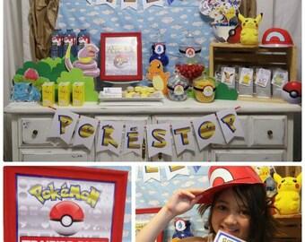 90% OFF Pokemon Printable | Pokemon Birthday | Pokemon Decorations | Pokemon Party | DIY Printable | Epic Parties by REVO