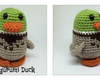 Amigurumi Duck Plush Crochet Toy