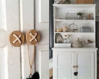 Button knobs set // Dresser drawer knobs // Decorative knobs // Door knob // Drawer pulls // Wooden knobs // Wooden pulls