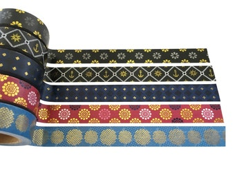 Moroccan Gold Foil Washi Tape