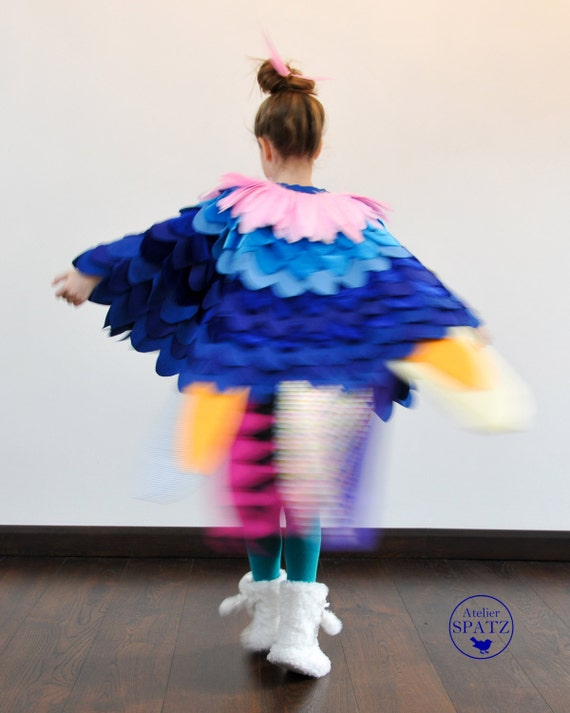 how to make a roly poly bird costume