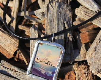 Just Breathe, Dragonfly Necklace