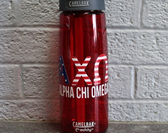 American Flag Sorority Camelbak Water Bottles