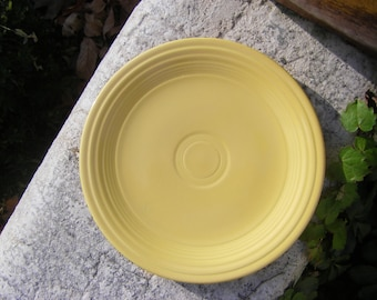 Yellow Fiestaware Luncheon Plate 1936-1969
